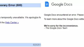 Gmail, YouTube, and Google Docs crash for users across the world-People blame year 2020