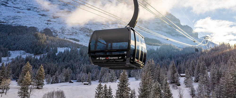 Eiger Express JUNGFRAU RAILWAYS TO INAUGURATE THE MOST MODERN TRICABLE GONDOLA IN EUROPE
