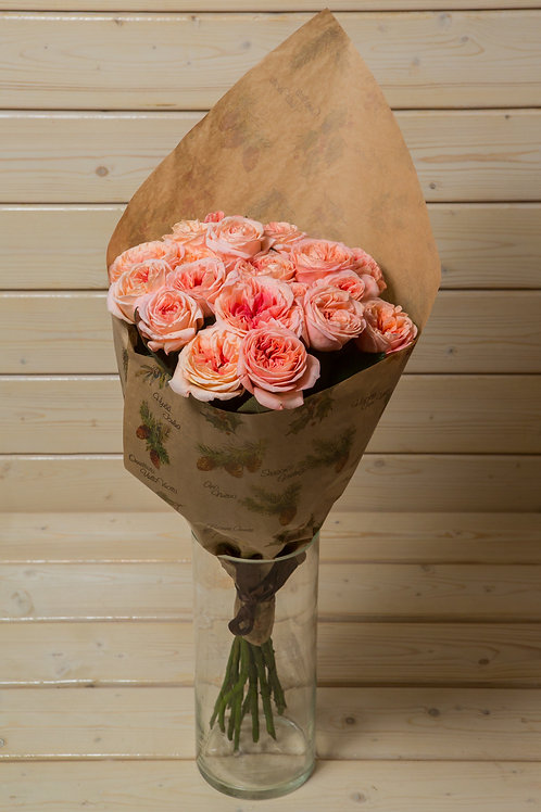 "Букет пионовидных роз ""Кейра"""