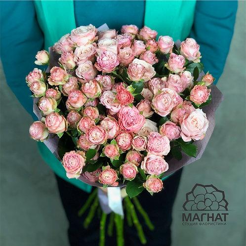 """15 кустовых роз """"Леди Бомбастик"""""""