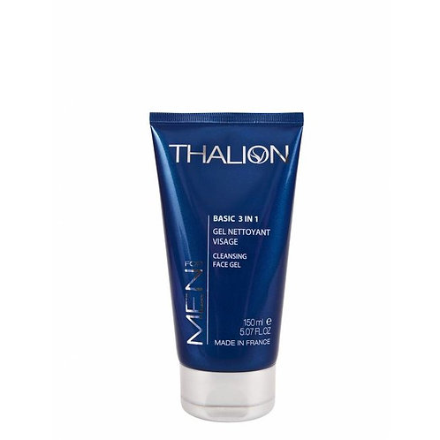 Thalion Men's Basic 3-in-1 Cleansing Face Gel