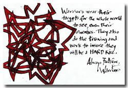 Warrior Weapons of Wisdom