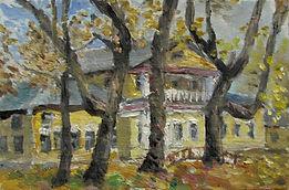 51 Усадьба Лазаревых осенью, 2010, карто