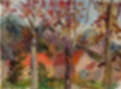 24 Три дерева (Гаминг), 2011, картон мас