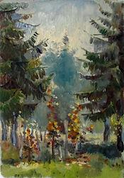19 Тишина (Медведково), 1978, картон мас