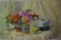 29 Натюрморт с лимоном и чайником, 2013,