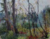 33 Лесной гобелен, 2015, холст масло, 24