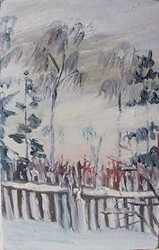 15 Соседкий забор (Солнечногорск), 1962,