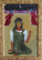 Бог. Тайное, 1983, картон масло.jpg