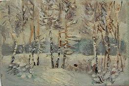 17 Зимнее поле (Солнечногорск), 1969, ка