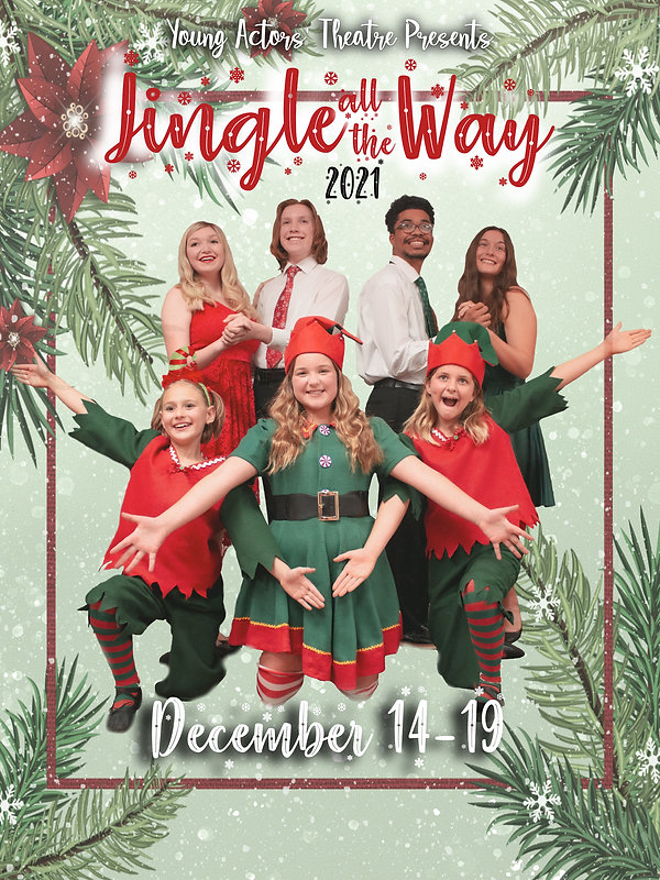 Jingle Al the Way Poster Playbill JPEG.jpg