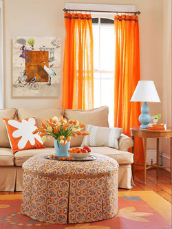 Living-Room-With-Orange-Color-Burst-at-Awesome-Colorful-Living-Room-Design-Ideas