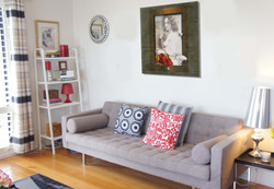 At-home-with-Natasha-Wood-from-Luscious-greige-black-gold-silver-and-red-living-