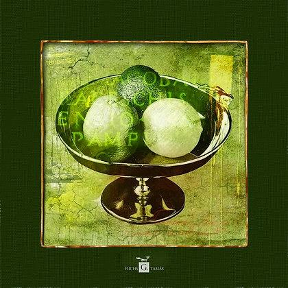 Green compote - Gyümölcstál zöld