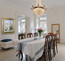 Beautiful Modern Apartment with Amazing Kitchen in Sweden dining room.jpg