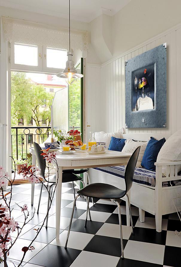 Beautiful Modern Apartment with Amazing Kitchen in Sweden, kitchen 2.jpg