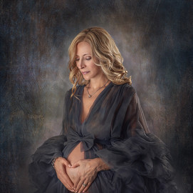 Reflection Maternity Portrait