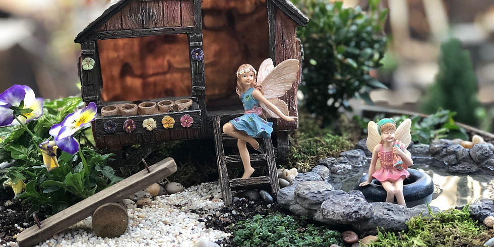 Miniature Garden Workshop