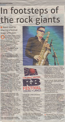 Colne Blues Festival The Stumble Lancashire Evening Telegraph