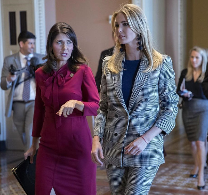 MAGA Governor of South Dakota Kristi Noem & Senior Presidential Advisor Ivanka Trump promoting the MAGA Agenda. Governor Kristi Noem will make a great successor for President Trump in 2024! #MAGA #KAG