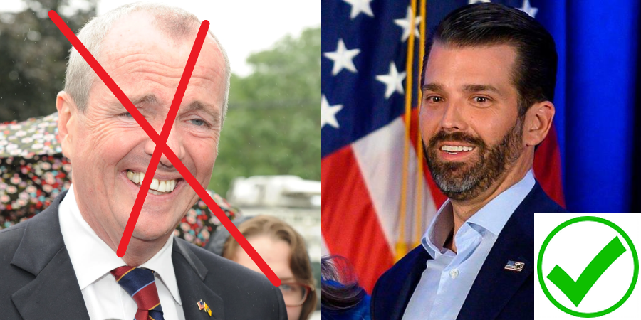 MAGA New Jersey Gubernatorial Candidate Donald Trump Jr. is the choice for Patriotic New Jerseyans in November 2021 against DemonRAT Phil 'Lockdown' Murphy! #MAGA #KAG #DONALDTRUMPJRNJ #TRUMPJR2021