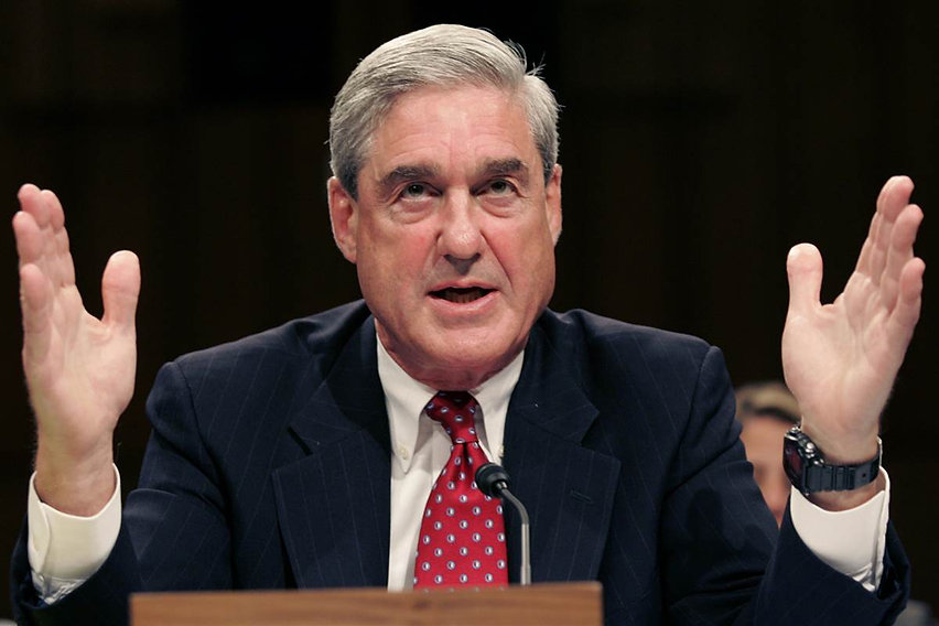 DC Swamp Dweller Robert Mueller who's sordid history as a Deep State clean-up man belies his squeaky clean image. Bob is not to be trusted.
