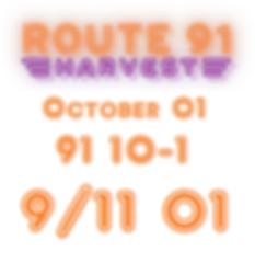 Route 91 Harvest Festival in Las Vegas - Check that data! 91 10-01... 9/11 01... SPOOKY!