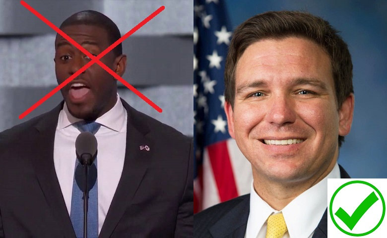MAGA Candidate Ron DeSantis destroyed DemonRAT Andrew Gillum in the Florida Gubernatorial Race in November 2018!!!! #MAGA #KAG #TRUMPTRAIN