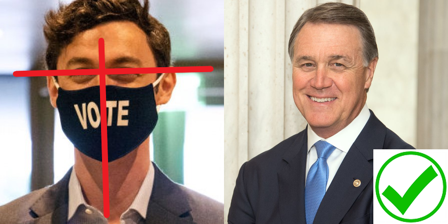 MAGA Candidate David Perdue is the choice for Georgia in January 2021 against DemonRAT Jon Ossoff! #MAGA #KAG #VOTEPERDUE #TRUMP2021