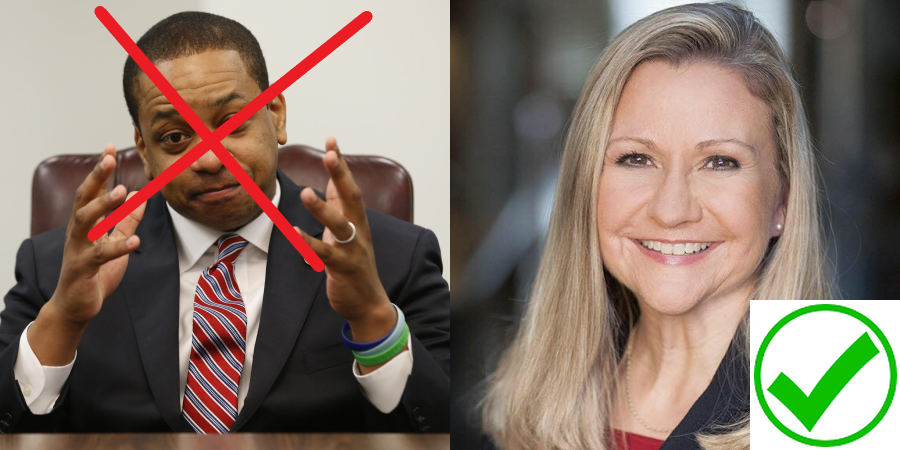 MAGA Virginia Gubernatorial Candidate Amanda Chase is the choice for Patriotic Virginians in November 2021 against DemonRAT Justin Fairfax! #MAGA #KAG #AMANDACHASEVA #CHASE2021