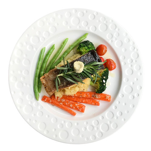 Pan Fried Salmon with Lemon Butter