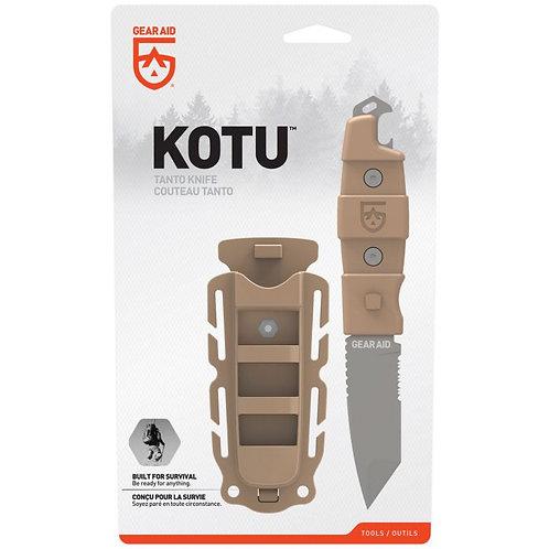 GEAR AID KOTU TANTO SURVIVAL KNIFE