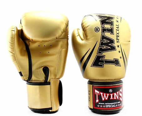TWINS BOXING GLOVES PREMIUM SYNTHETIC LEATHER WITH VELCRO 14 OZ