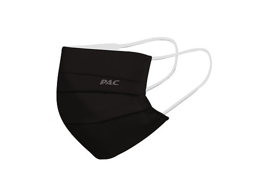 PAC COMMUNITY MASK 3 LAYER + FILTER CASE TOTAL BLACK