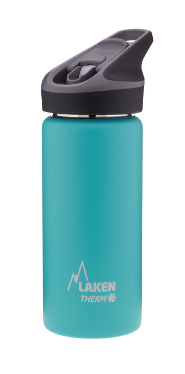 LAKEN ST. STEEL THERMO BOTTLE - 0.5L - TURQUOISE
