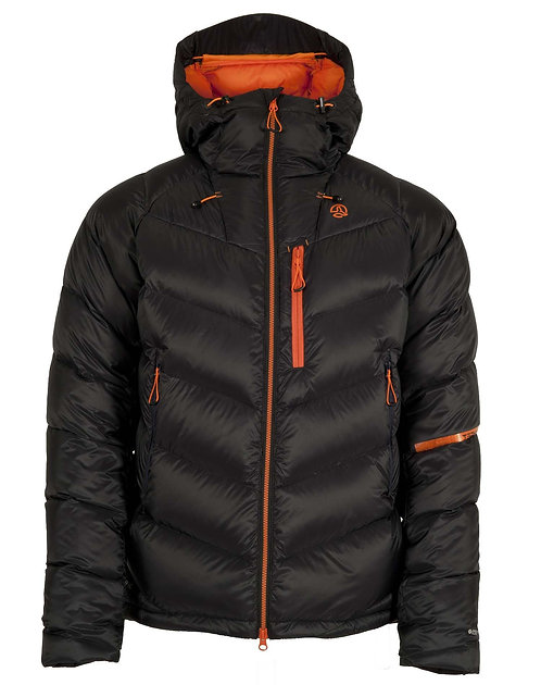 SERAC 250 HD JACKET M BLACK ORANGE RED