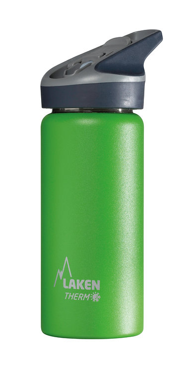 LAKEN ST. STEEL THERMO BOTTLE - 0.5L - GREEN