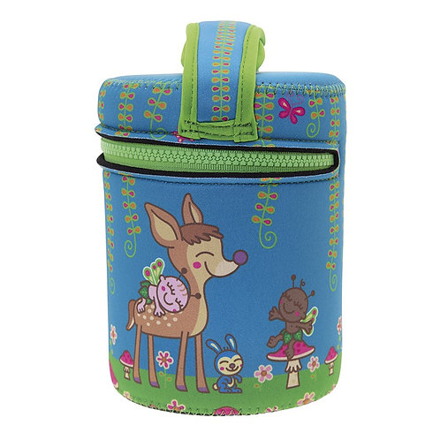 S/S THERMO FOOD CONTAINER 1.0L + COVER LJ BAMBINO
