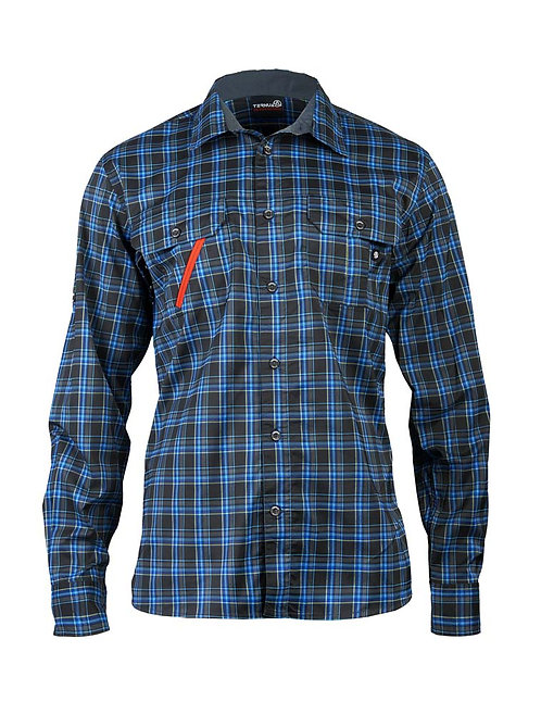 PATH SHIRT DARK SEA BLUE CHECKS