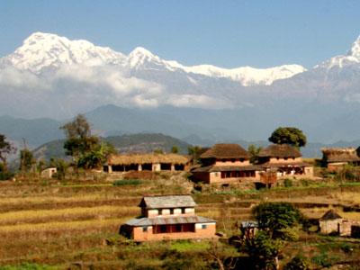 Himalayan view.