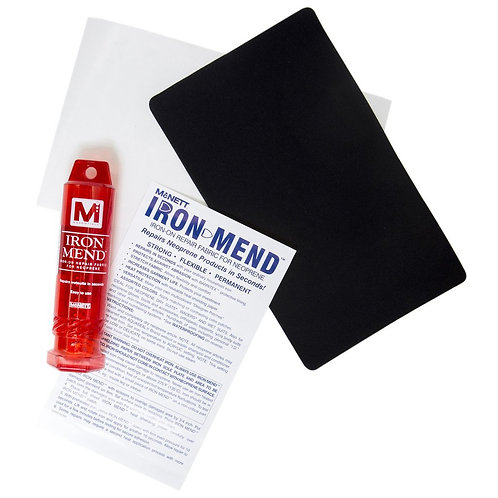 IRON MEND IRON-ON REPAIR FABRIC FOR NEOPRENE