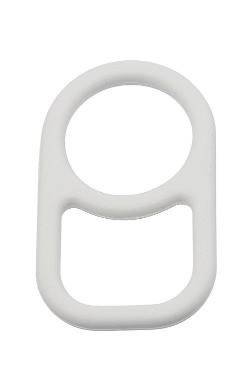 D-NECK RING WHITE
