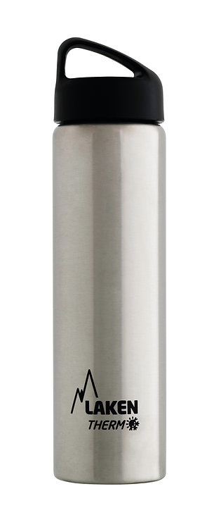LAKEN ST. STEEL THERMO BOTTLE - 0.75L - PLAIN