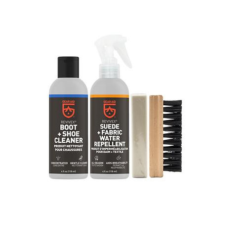 REVIVEX BOOT CARE KIT SUEDE+FABRIC