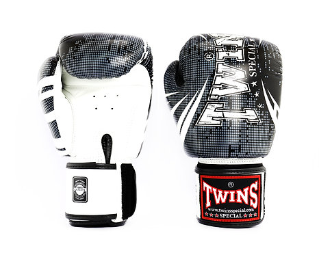 FANCY BOXING GLOVES SIGNATURE DESIGN REAL LEATHER  140z