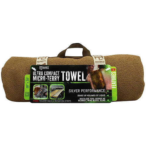 "ULTRA COMPACT MICROTERRY TOWEL -L ""30X50"""