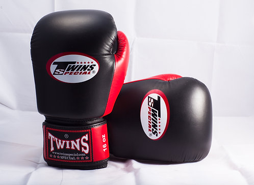 TWINS GLOVES REAL LEATHER 16OZ