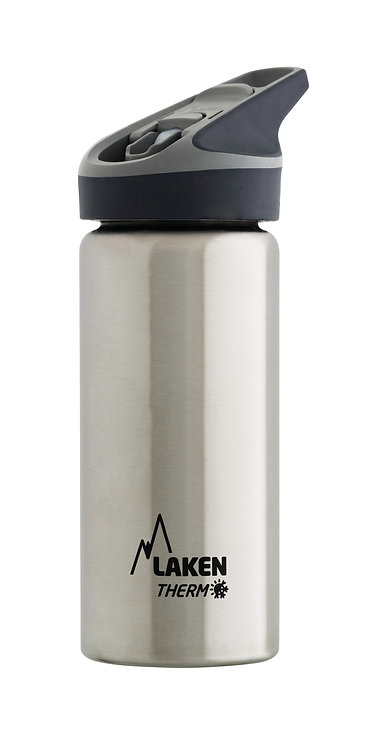 LAKEN ST. STEEL THERMO BOTTLE - 0.5L - PLAIN