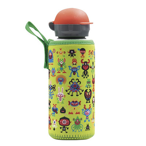 ALU BOTTLE 0.45L HIT CAP NEO COVER PEKEMONSTERS