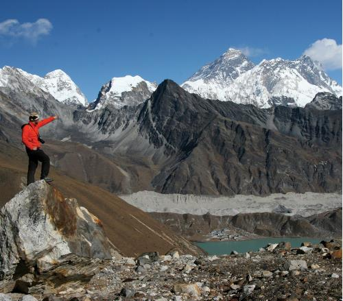 Mt. Everest from Gokyo